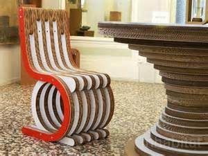 Furniture collection made from cardboard cardboard furniture