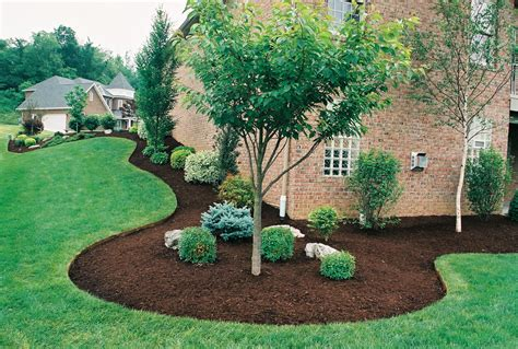 flower beds around house mulch garden ideas make beautiful gardens and plants thrive