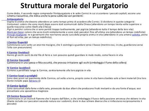 cornici purgatorio il purgatorio