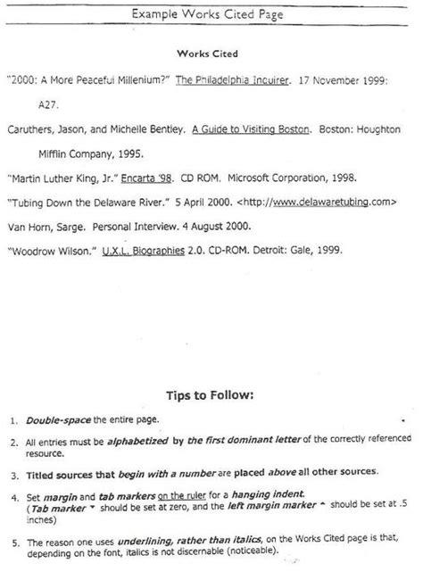 best photos of proper bibliography format proper mla