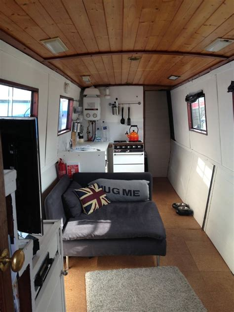 living on a narrow boat in london small space living in a narrowboat tiny home in london