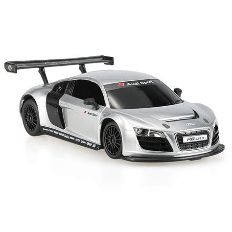 Rc Audi R8 silver rastar 46800 27mhz 1 24 audi r8 lms rc sports