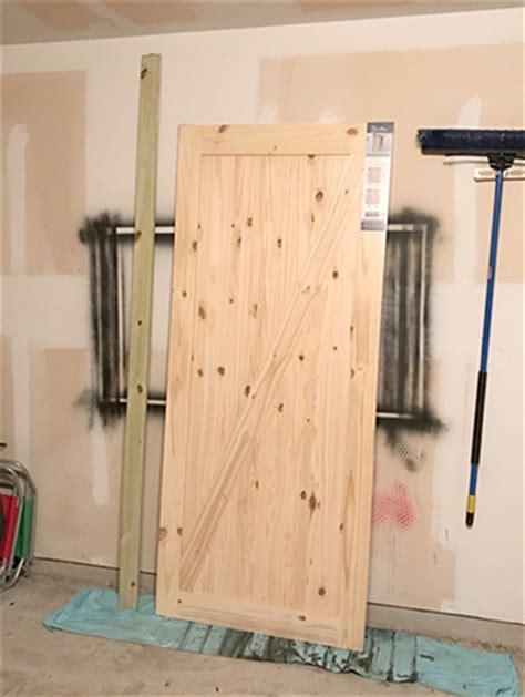 how to install barn door track d i y barn door install