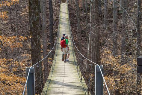 swinging bridge utah meanderthals lost creek overlook and marble plains