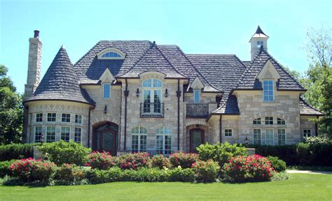 french roof exterior traditional with french provincial french provincial with rounded turret traditional