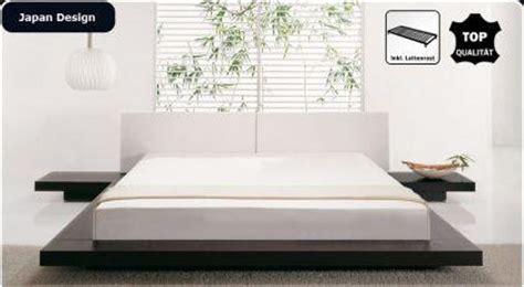 japanischer futon kaufen design massivholz bett quot japan style quot holz bett walnuss mit