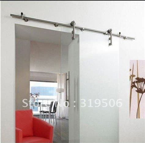 free shipping modern stainless steel barn door hardware