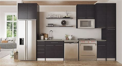 Melamine Kitchen Cabinets by Melamine Kitchen Cabinet Black Melamine Cabinets