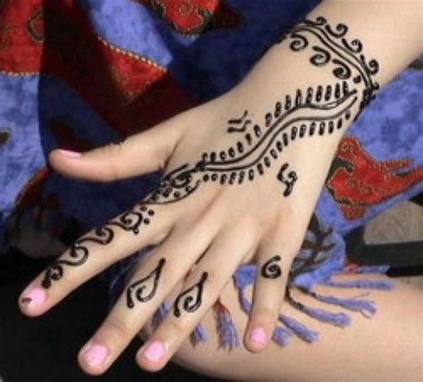 easy mehndi tattoo designs for hands mehndi designs