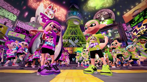 splatoon 2 amiibo splatfest arena wii u nintendo switch guide unofficial books splatoon s splatfest announced callie vs
