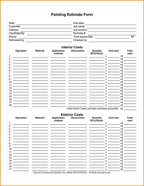 estimate template pdf madrat co