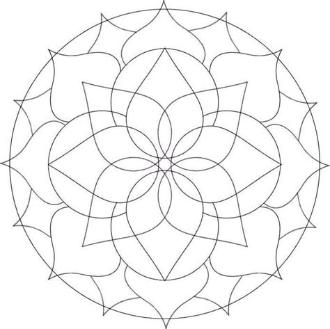 coloring pages of mandala designs mandalas coloring part 3