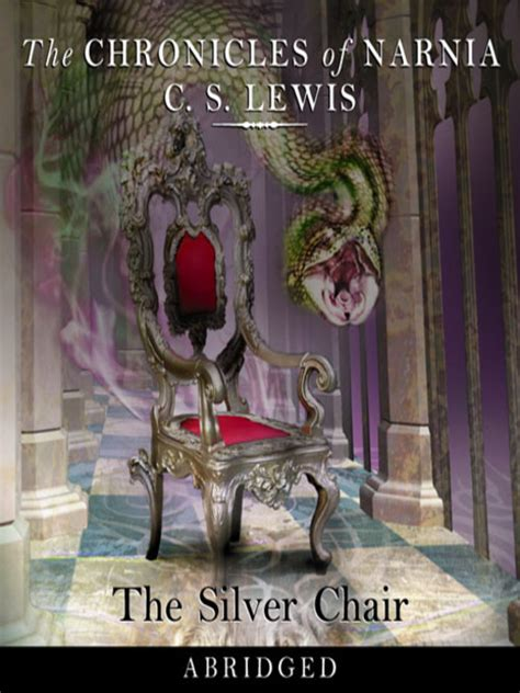 The Chronicles Of Narnia Silver Chair by The Silver Chair Mp3 The Chronicles Of Narnia Book 6