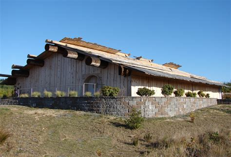 Plank House by Indianz Gt Coquille Tribe Hosts National Indian Timber