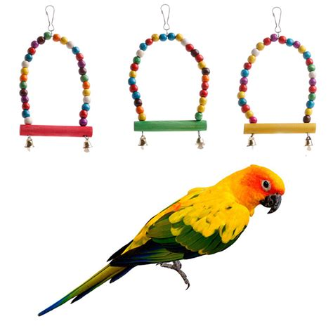 parrot rope swing colorful swing bird parrot rope harness hammock hanging