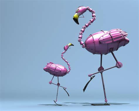flamingo macbook wallpaper 1280x1024 mechanic flamingo desktop pc and mac wallpaper