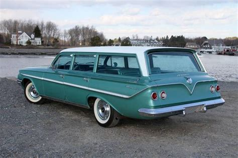1961 chevrolet station wagon 1961 chevy parkwood station wagon cars