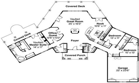 Hexagonal House Plans by Home Architecture Lodge Style House Plans Ridgeline