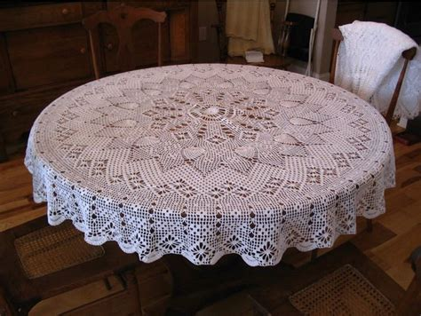 pattern crochet round tablecloth round tablecloth tablecloths and crochet patterns on
