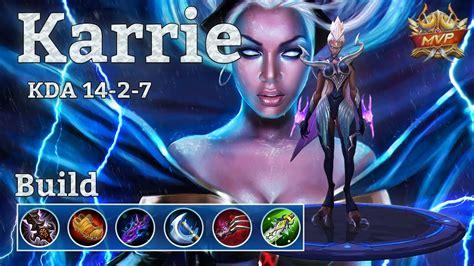 karie mobile legend mobile legends karrie mvp burst and attack speed