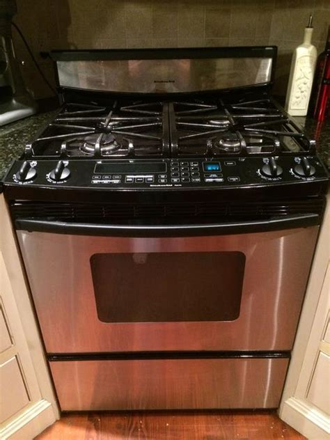 Kitchenaid 950es Oven Problems Kitchenaid Superba Stainless Steel Gas Convection Stove