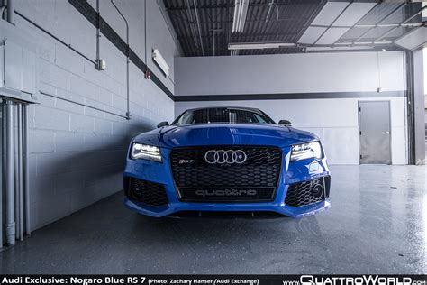 Audi Exchange by Audi Exclusive Nogaro Blue Rs 7 From The Audi Exchange