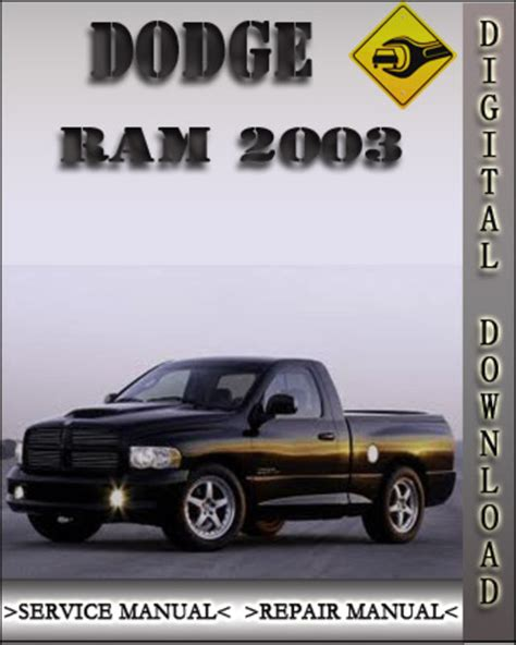 service manual download car manuals 2003 dodge ram head up display car repair manual 2003 dodge ram factory service repair manual download manuals am