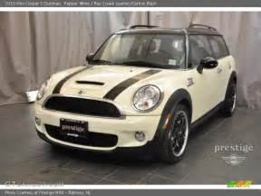 Pepper White Mini Cooper S 2010 Mini Cooper S Clubman In Pepper White Photo No