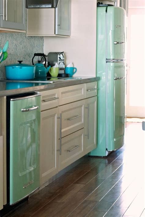turquoise kitchen appliances 12 ways to decorate with the color mint porch advice