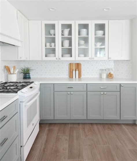 17 best ideas about gray and white kitchen on