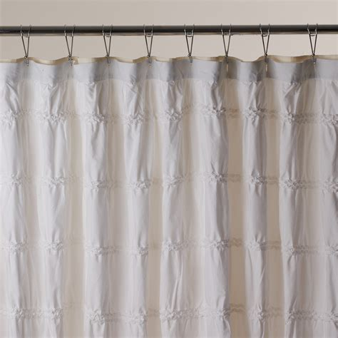 bloomingdales shower curtains sky shower curtain white bloomingdale s