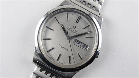 Omega Geneve Stell steel omega 232 ve ref 166 0169 vintage wristwatch circa