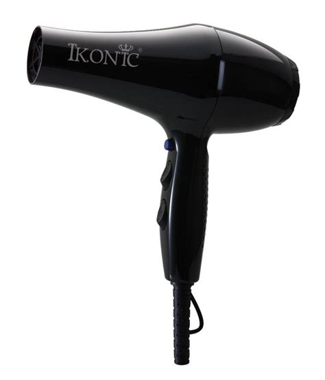 Hair Dryer In Snapdeal ikonic ikonic pro 2500 hair dryer black buy ikonic