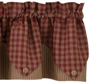 park designs valances lined point valance curtains from park designs pine hill