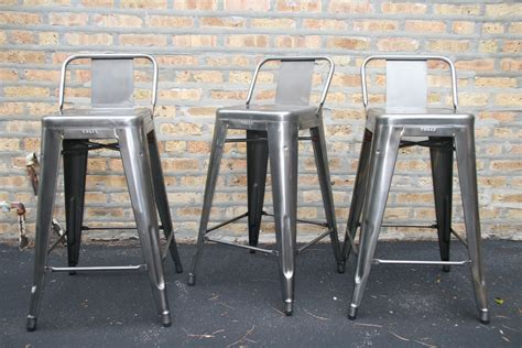 tolix metal bar stools tolix tabouret stool with short back