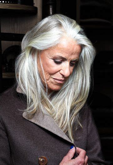 gray hair for 50 year old women 21 best long hair style women 50 plus images on pinterest