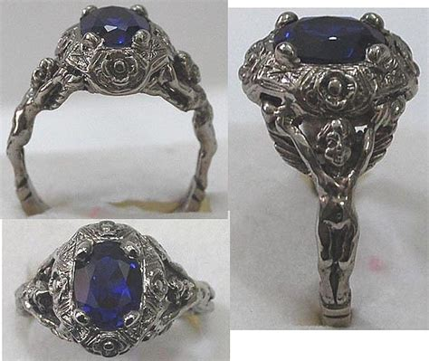 bridal jewelry michelles vintage jewelry old world gothic antique style rennaisance man s ring