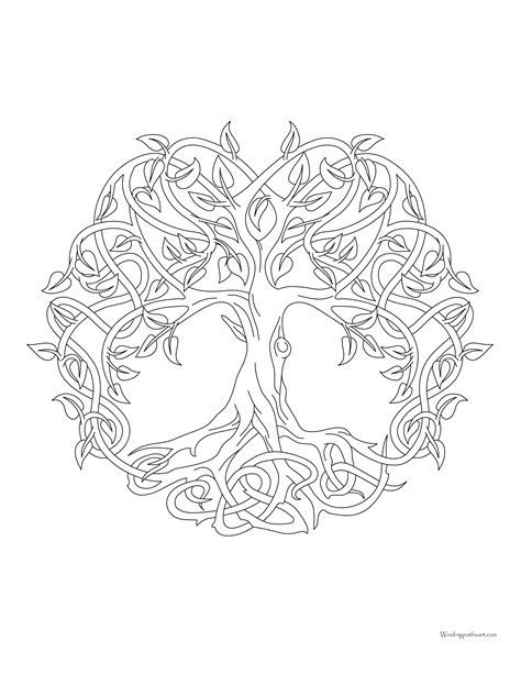free coloring pages tree of life tree of life coloring page and of pages snapsiteme tree of