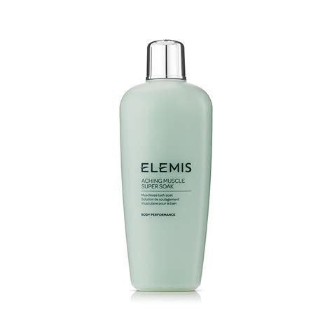 aching with elemis aching soak 400ml bath soak elemis