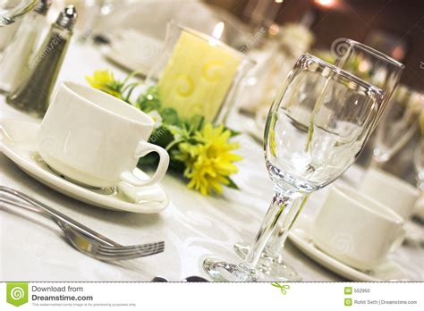 dinner setting formal dinner setting stock photo image of cutlery meal
