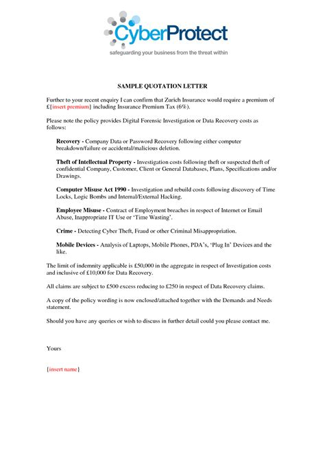 Decline Letter For Quotation Best Photos Of Quotation Sle Letter To Customer