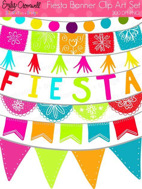 festa clipart banners digital clipart mexican cinco