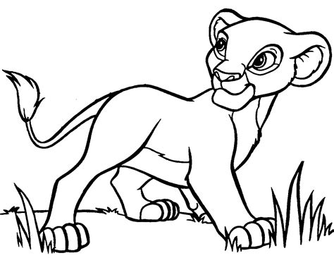 coloring pages free printable simba coloring pages coloring me