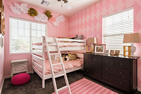 pink girls bedroom with ikea stockholm rug transitional how to decorate a child s room that s trendy and kid