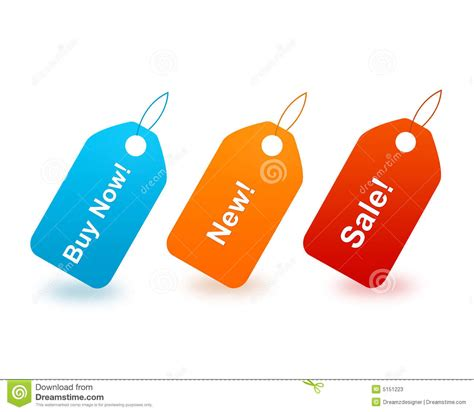 Buy New Buy Now New And Sale Tags Stock Photos Image 5151223