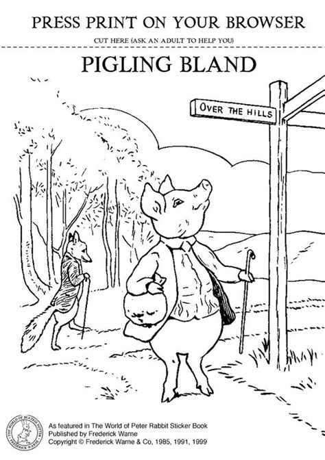 beatrix potter coloring pages google zoeken beatrix