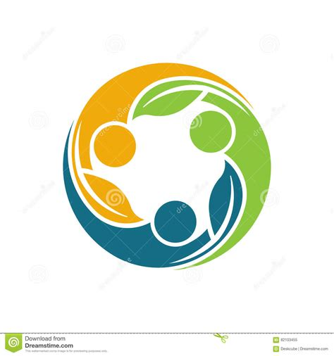 Tree Group Of People Logo Vector Illustration Cartoondealer Com 25354414 Tree Logo Setpeople Logo Setfamily