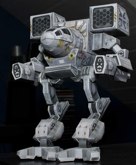 Papercraft Mech - madcat papercraft by k a n e on deviantart