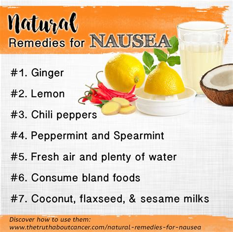image gallery nausea remedies