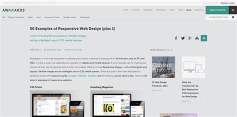 website layout exles 2015 400 websites that showcase responsive design ugurus
